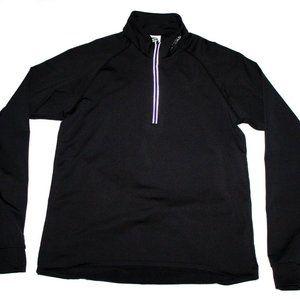 Brooks Running Womens Long Sleeve 1/4 Zip Pullover